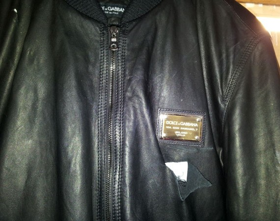 torn leather jacket repair