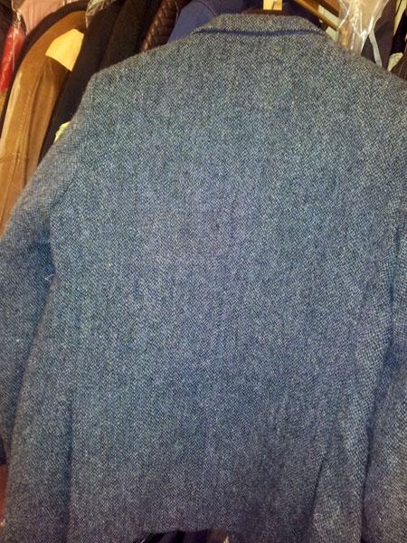 Clothing repair torn jacket - after repair