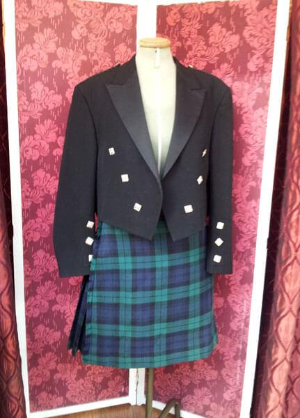 scottish traditional highland wear kilt alterations
